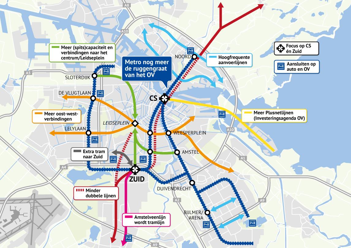 Openbaar Vervoer In Amsterdam Altijd Amsterdam